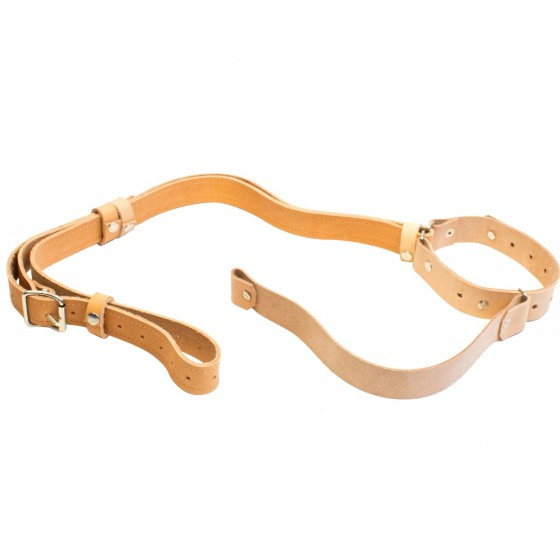 Rifle Sling self-tightening Leather
