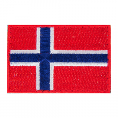 Norwegian Flag Patch